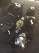 Kit 4 supports  Moteur Vibra-Technics + Powerflex Black + 4ème support sous boite type Grn