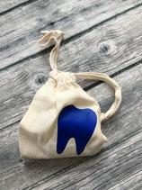 Milchzahnsäckli Blau