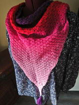 Gehaakte Bosbessen sjaal