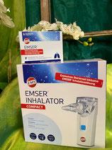 Emser Inhalator Compact inkl. 10 Ampullen Emsersalz