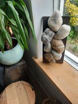 Faux stenen.. als wandhanger. Uniek