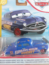 Fabulous Hudson Hornet with tire