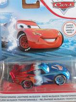 Metallic Transforming Lightning McQueen