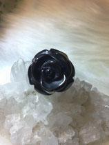 オニキス 薔薇(バラ)のリング