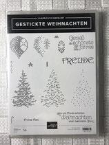 Gestickte Weihnachten