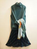 スパンコール付きハイネックセーター(030ー156)