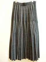 変形プリーツニットスカート(830−356)