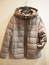 フード付きキルティングジャケットコート(830−273)