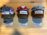Senf verschiedene Sorten von Senftöpfle - einfach auswählen