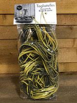 Tagliatelles curcuma encre de seiche - 250g
