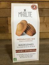 Préparation Bio pour Madeleines à la fleur de sel - Marlette - 300g