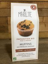 Préparation Bio pour Muffins aux pépites de chocolat - Marlette - 350g