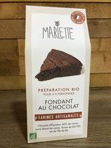 Préparation Bio pour Fondant au Chocolat - Marlette - 330g