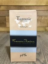 Tablette Chocolat Noir 75% - Tanzanie - 100g