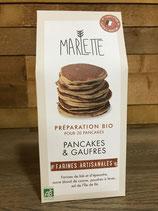 Préparation Bio pour Pancakes et Gaufres - Marlette - 350g