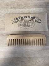Mr Bear Family Wooden Beard Comb (baardkam)