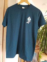 Shirt Whale uni turquoise