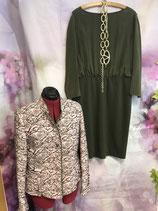 Kleid MOSCHINO Gr. 42, Oberteil luftig, Trägerkleid