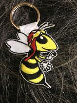 Schlüsselanhänger Wespe