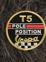 Vespa Aufnäher Vespa T5 Pole Position