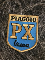 Vesüa Aufnäher Piaggio PX blau