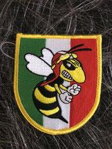 Vespa Aufnäher ITA flagge mit Wespe