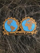 Vespa Aufnäher Vespa World Club