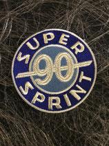 Vespa Aufnäher Super Sprint