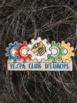 Vespa Aufnäher Vespa Club Europe