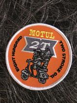 Scooter Aufnäher Motul 21