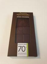 Tablette de chocolat noir Andoa 70%