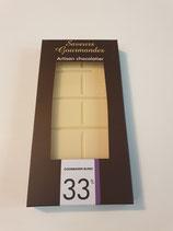 Tablette chocolat blanc Opalys