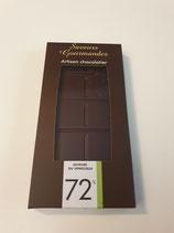 Tablette de chocolat noir Vénézuéla 72 %
