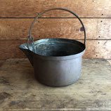 銅製片口手付鍋