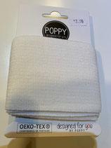 Bündchen Poppy off-weiss Oeko-Tex