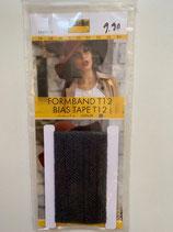 Formband 12mm schwarz