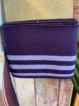 Bündchen violett-lila Oeko-Tex