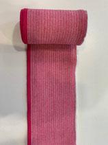 Bündchen pink (Rolle)  Abschluss pink