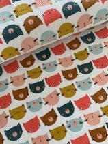 Nicki Happy Cats, farbig