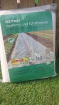 Gärtner Insekten und Schattiernetz 2x5 Meter