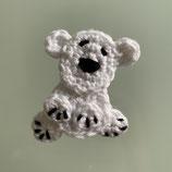 Applikation Eisbär klein (sitzend)