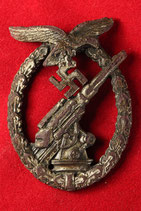 FLAK ARTILLERY WAR BADGE #2