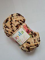 100 g Baby Wolle Velours bunt