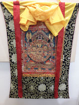 Thangka stendardo buddista