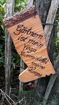 Gartendekoration , Geschenk für Gärtner
