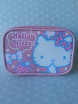 Kosmetiktasche, Beuty Bag, Kulturbeutel, kleine Tasche, Clutch, Hello Kitty, apple