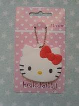 Taschenspiegel, Schminkspiegel, Handspiegel, Hello Kitty, rot