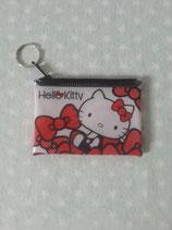 Münzbörse, Aufbewahrungstasche, Geldbeutel, Damen, Hello Kitty, Vinyl ribbon