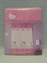 Gardine, Vorhang, Ösenaufhängung, transparent, Hello Kitty, bow