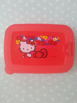 Brotdose, Lunchbox, Vorratsbehälter, Snack Box, Hello Kitty, ribbon